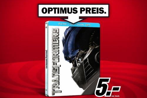 Transformers BluRay Steelbook 5,00 € (ggf. + 1,99 € Versand) @ MediaMarkt