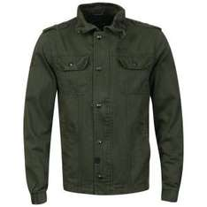 "Herren Jacke ""Brave Soul Combat Twill Jacket"" Khaki ab 7.35€ @  TheHut"