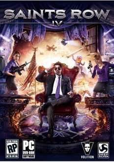 [Steamkey] Saints Row IV - 29,79 € @ cdkeyshere.com