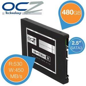 OCZ Vertex 3 480GB 2,5'' SATA3 SSD für 199,95€ zzgl. 5,95€ Versand @iBOOD