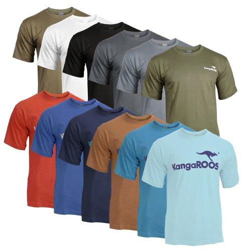 3er Pack KangaROOS T-Shirts für nur 19,99 EUR inkl. Versand [Verschiedene Faben/Größen]