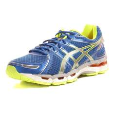 Asics Gel Kayano 19 WOMEN/MEN blue-white-yellow für 81,75€ bei mysportsworld.de