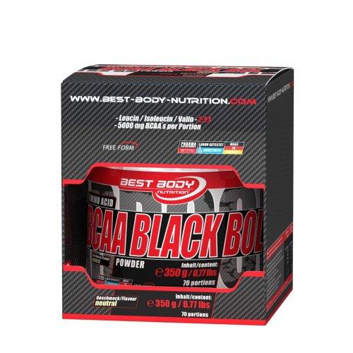 Best Body Nutrition Hardcore Black Bol Powder Dose / BCAA / 2-1-1 / 6x500gr. aka 3Kg