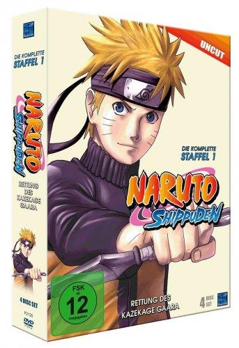 Naruto Shippuden - Staffel 1 (uncut) [4 DVDs] für 25€ @Amazon.de