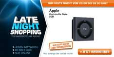 [Saturn Late Night Shopping] Apple iPod shuffle 2GB slate ab 33€