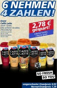 Kaffee für unterwegs - Emmi Caffé Latte - 230 ml für effektiv 0,53 €