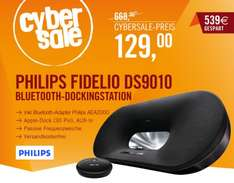 CyberSale: Philips Fidelio DS9010 inkl. Bluetooth Adapater Phillips AEA2000 - 129,00 € - IDEALO: 215,63