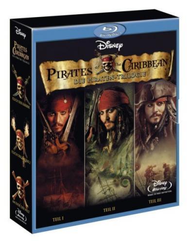Fluch der Karibik 1-3 Trilogie Blu-ray @ bol.de mit 5€ Gutschein