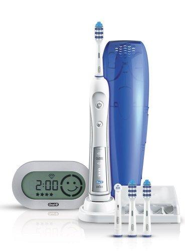 Oral-B TriZone 5500, elektrische Zahnbürste, Premium Zahnbürste mit Reiseetui, 108,50 Euro amazon