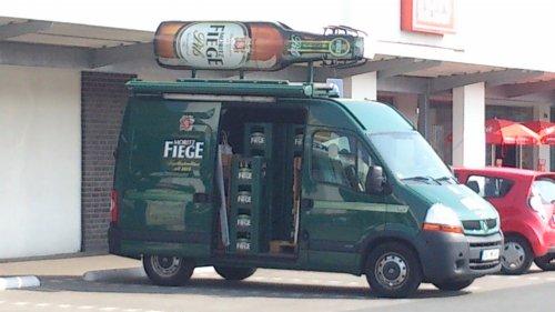 eine Flasche Bier gratis [Kaufpark Werne]