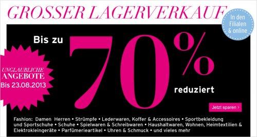 [Karstadt Online] Versace, Lacoste T-Shirts (und mehr) mit bis zu 70-90% Rabatt