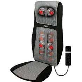 HoMedics SBM-600H-GB, Shiatsu Massagesitz mit integrierter Schultermassage, 3D Massage