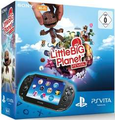 [Amazon WHD] PlayStation Vita (WiFi) inkl. Little Big Planet + 4GB Memory Card
