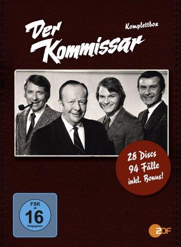 Der Kommissar - Komplettbox auf 28 DVDs - @Amazon.de