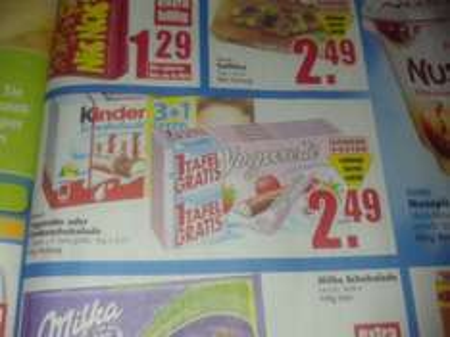 [Edeka Bernau evtl. auch woanders] Yogurette oder Kinderschokolade 3+1