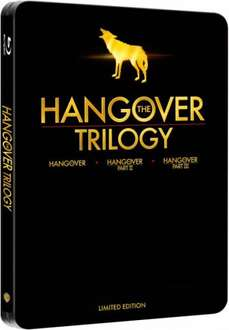 The Hangover Trilogy - Limited Edition Steelbook (Incl. UltraViolet Copy) 3x Blu-ray [für € 26,71 @zavvi.com vorbestellen]