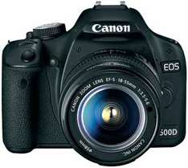 Canon EOS 500 inkl. 18-55 DC Objektiv