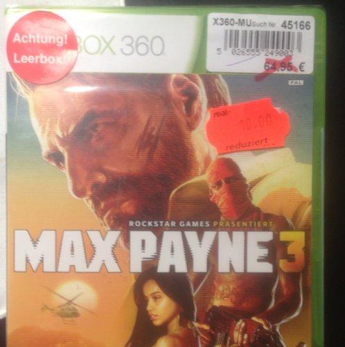 [LOKAL] Max Payne 3 -Xbox 360 - Real Deggendorf