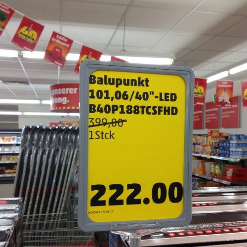 """(Hamburg) Blaupunkt 40"""" LED B40P188TCSFHD für 222 €"""