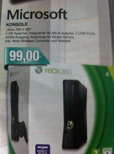 Marktkauf Verbrauchermärkte   X Box 360  4GB
