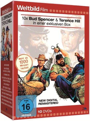 Bud Spencer & Terence Hill 10er-DVD-Box (Weltbild-Edition)