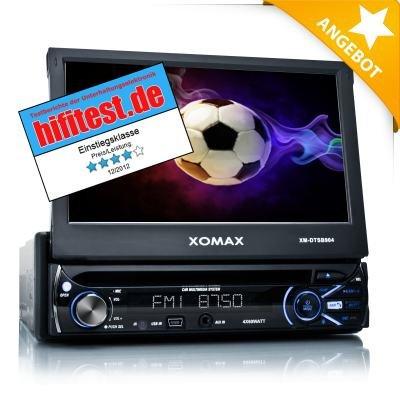 XOMAX XM-DTSB904 Autoradio USB, SD und BLUETOOTH für 153€