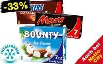 [Netto Marken-Discount] Mars, Snickers & Bounty Ice Cream für 1,99€