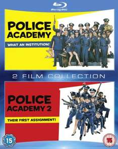 Blu-ray Box - Police Academy 1 & 2 (2 Discs) für €9,42 [@Zavvi.com]