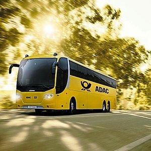 Neu: ADAC Postbus ab 01.10. auf der Strecke München - Köln: 1000 Freifahrten zu gewinnen