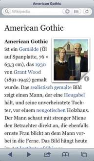 [iPhone] Wikipedia-Reader fürs iPhone gratis statt 2,69€