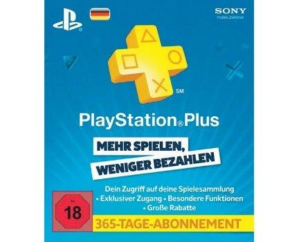 PlayStationPlus Live Card - 365 Tage für 41€ @SMDV