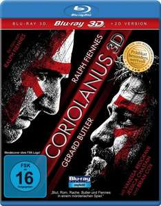 Coriolanus 3D inkl. 2D Version & Bonus-DVD[Blu-ray 3D] für 8,97€ @Amazon