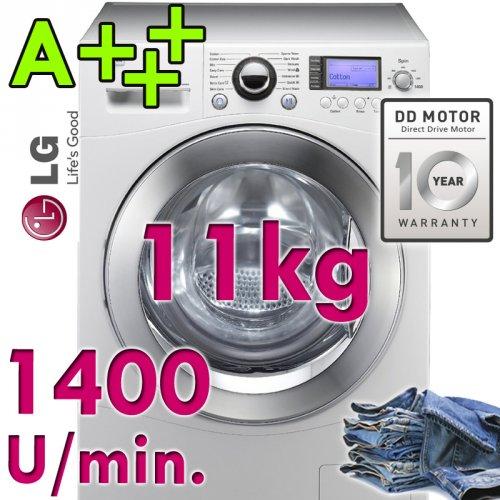 LG XXL 11 kg Waschmaschine F 144 - A+++ DISPLAY - 1400 U/min - AQUA LOCK für 669,99€ +49,99 VSK