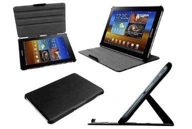 Navitech multi Stand Hard Case für Googel Nexus 7, Galaxy Tabs und Asus Transformer