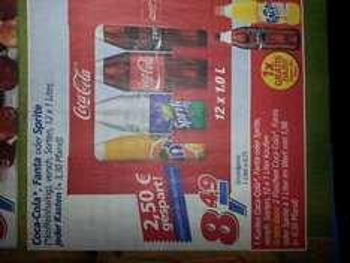 [Real] 12x 1l Coca Cola / Fanta / Sprite + 2x 1l Flasche gratis