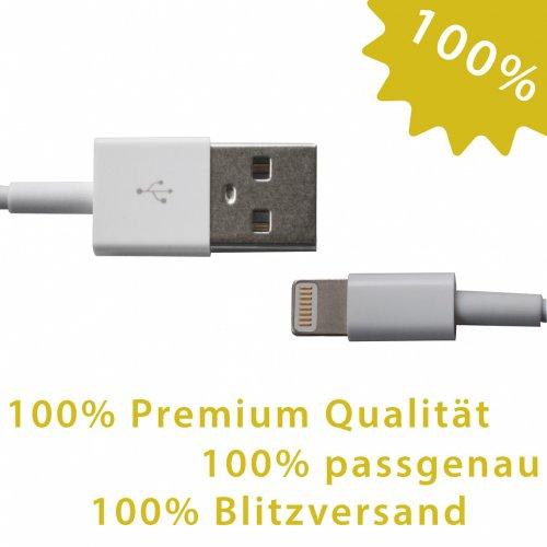 3x iPhone 5 Lightning Kabel für 5,50 EUR inkl. Versand  [e-goods.de]