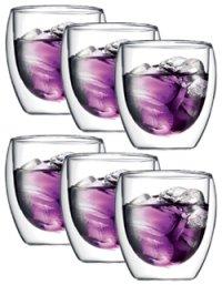 6er Bodum Pavina 0,25l Doppelwandglas @d-living