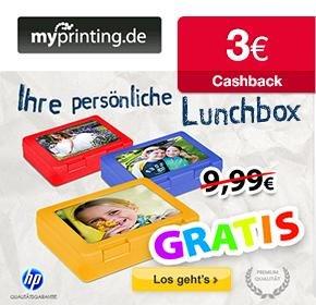 [Qipu] myprinting Lunchbox mit eigenem Foto-Aufdruck gratis+ 4,95€ VSk mit 3€ Cashback -> 1,95€ inkl. Versand!