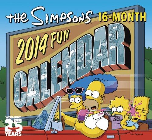 Simpsons Kalender 2014 für 6,99€ @ Amazon VSK-frei
