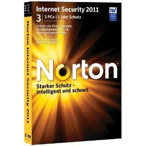 Norton Internet Security 2011 - 3 PCs für 27€ @ Amazon