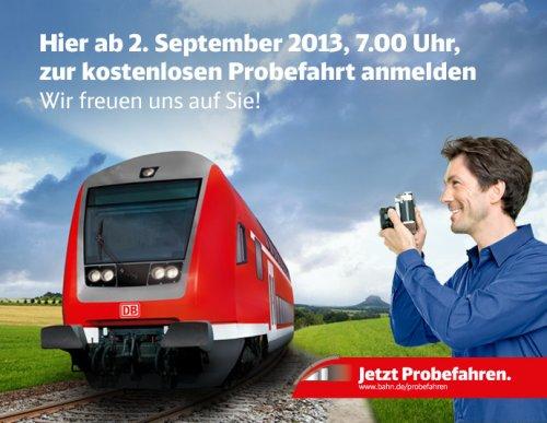 Bahn Probefahren Sachsen - Sachsen-Anhalt - Thüringen