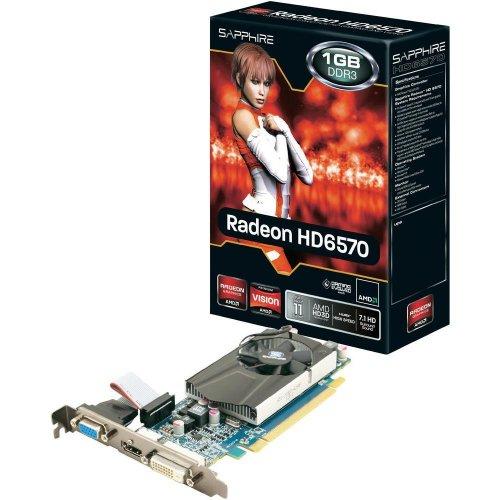 "Sapphire™ - AMD Radeon PCIe Grafikkarte ""HD6570"" (1024MB,HDMI,DVI) [B-Ware] ab €24,57 [@eBay.de]"