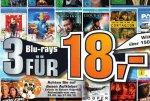 [Lokal Saturn Köpenick] 3 Blurays für 18€ mit dabei zB Argo, Cloud Atlas, Der Hobbit, Drive, Gangster Squad...