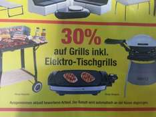 [METRO] 30 % auf alle Grills inklusive Weber