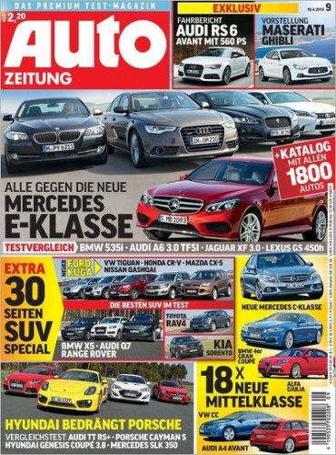 Auto Zeitung für effektiv 10€