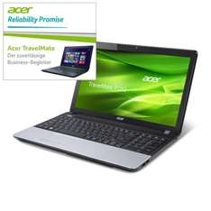 "Acer TravelMate Business P253-M-53214G50Mnsk Core i5 mit 2x2,5GHz, Win8,  (15,6"") HD LED Display, entspiegelt für 406.99€ inkl. Versandkosten"