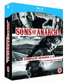Sons of Anarchy - Seasons 1-3 [12 x Blu-ray] für ca. 21€ inkl. Versand @Amazon.uk