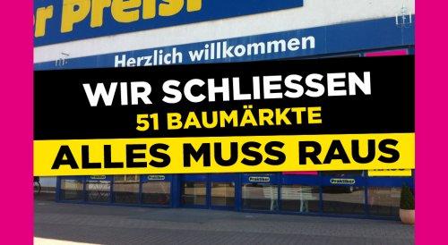 40% auf alles beim Praktiker in Hamburg-Wentorf