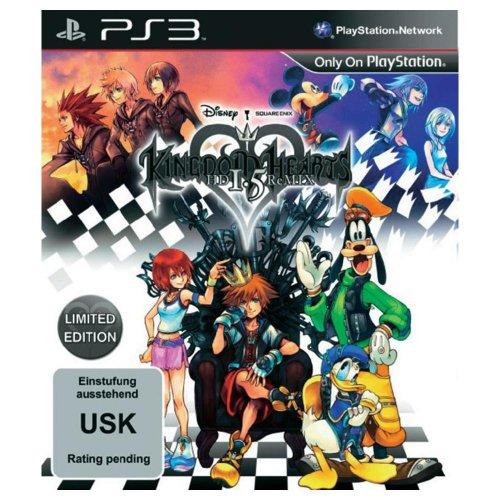 Kingdom Hearts HD 1.5 ReMIX für 31,40€ und die Limited Edition für 34,40€