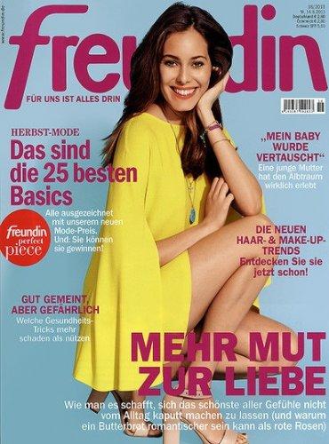 """13x die Zeitschrift """"Freundin"""" für 3,80€"""